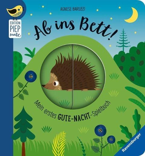 »Ab ins Bett! Mein erstes Gute-Nacht-Spielbuch«  — RAVENSBURGER