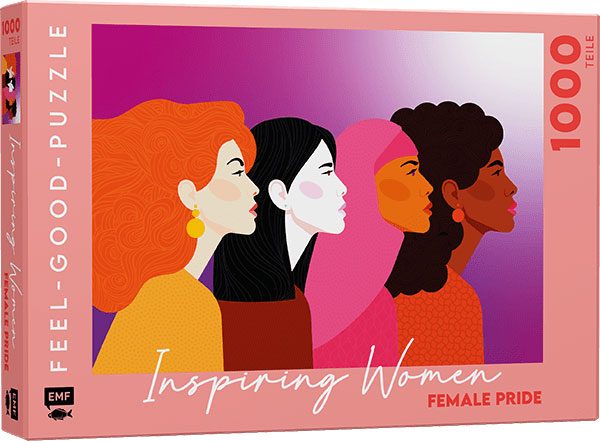 »FEEL-GOOD-PUZZLE 1000 TEILE -INSPIRING WOMEN: FEMALE PRIDE« — EMF
