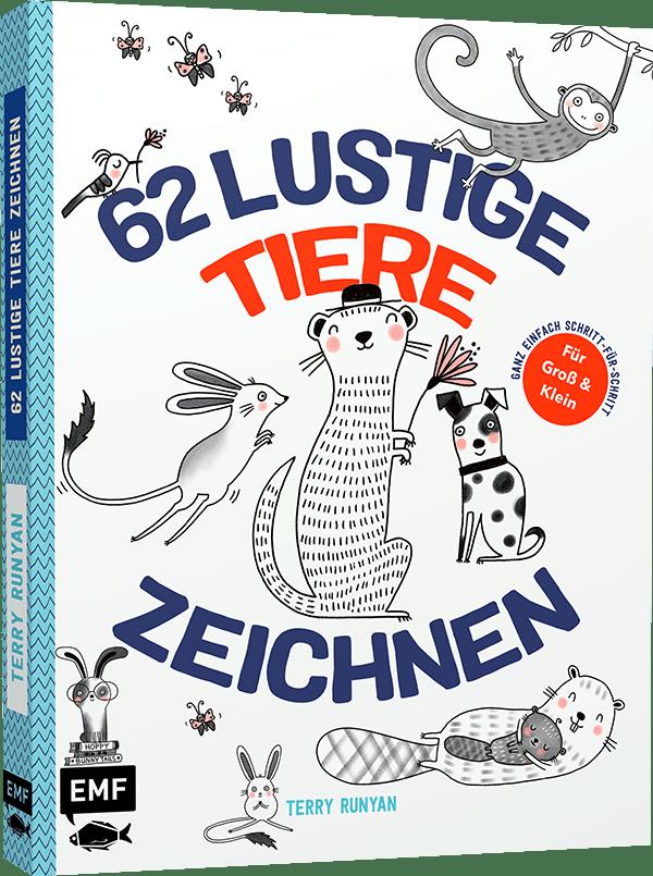 »62 LUSTIGE TIERE ZEICHNEN - FÜR GROSS UND KLEIN!« — EDITION MICHAEL FISCHER