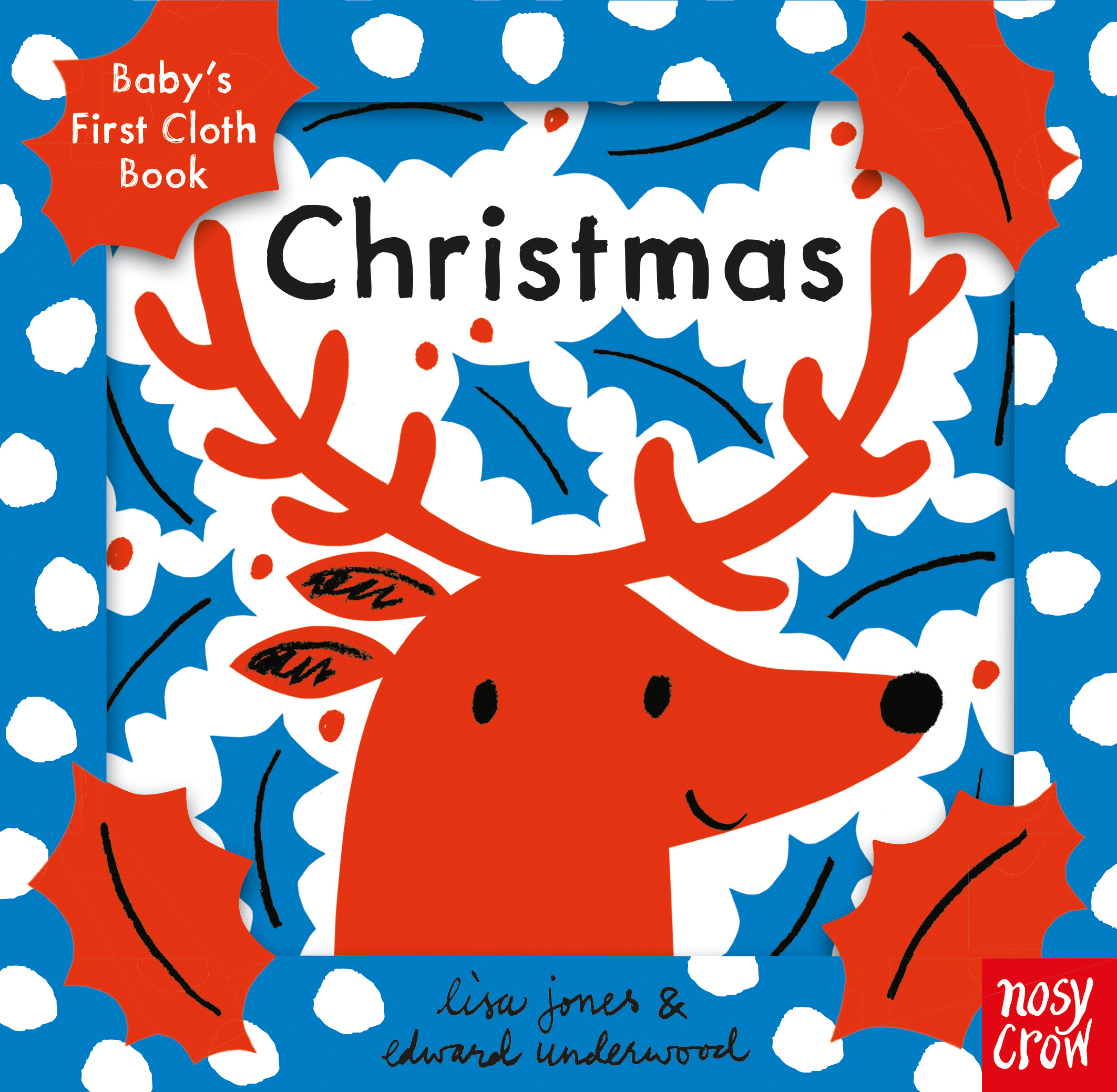 »BABY'S FIRST CLOTH BOOK:  CHRISTMAS« — NOSY CROW
