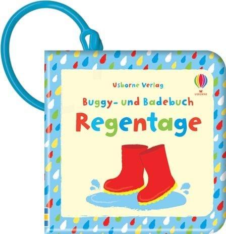 »BUGGY- UND BADEBUCH: REGENTAGE« — USBORNE