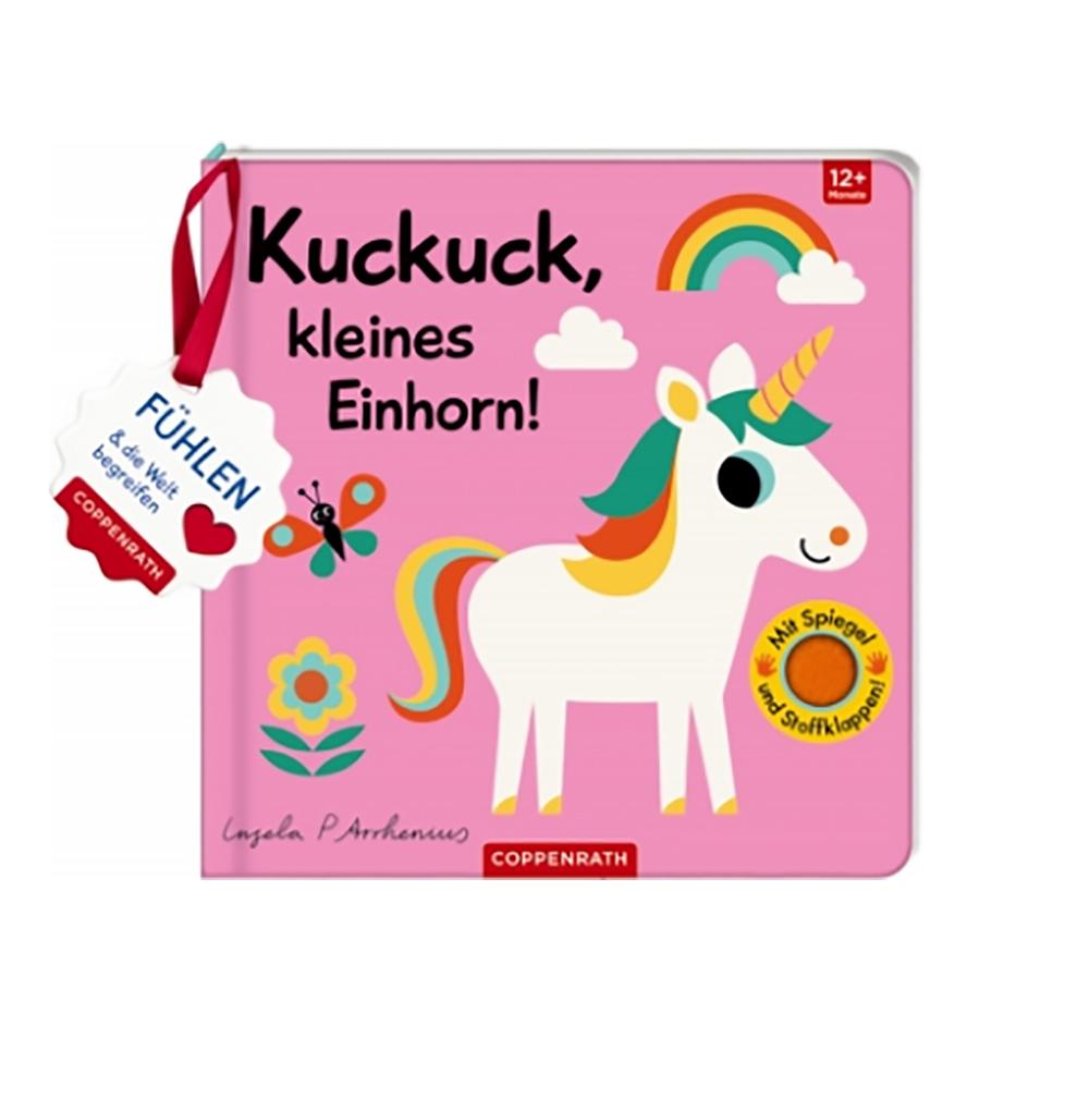 »MEIN FILZ-FÜHLBUCH: KUCKUCK, KLEINES EINHORN!« — COPPENRATH