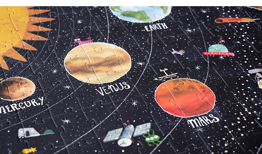 »DISCOVER THE PLANETS Puzzle« — Londji
