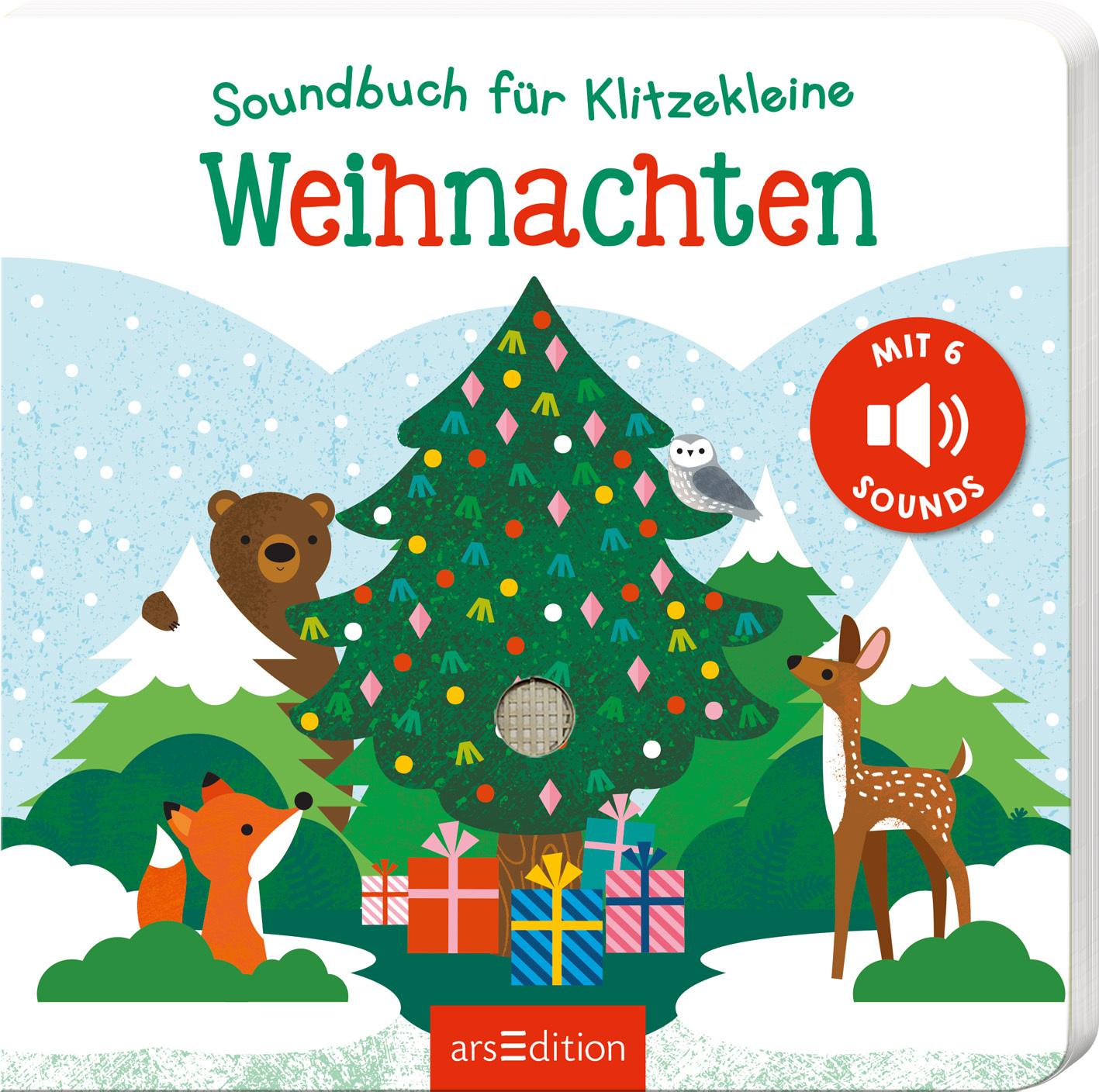 »SOUNDBUCH FÜR KLITZEKLEINE - WEIHNACHTEN«  —  ARS EDITION