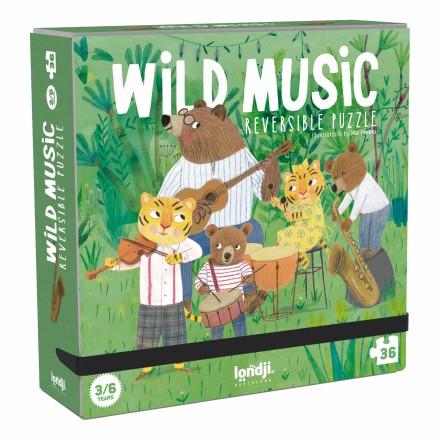 »WILD MUSIC KLEINES PUZZLE« — LONDJI