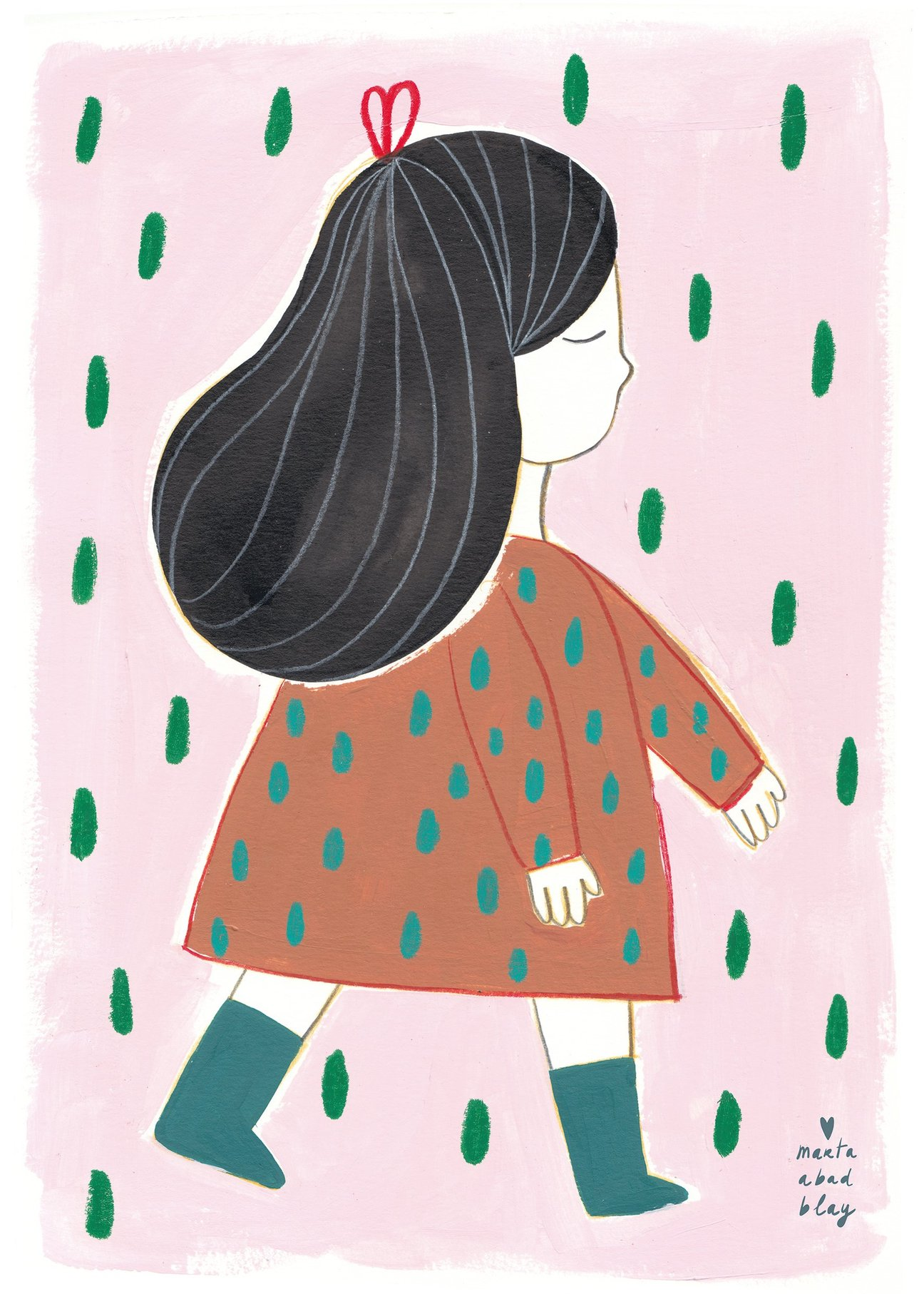 »Poster Irene«  — 50×70cm  — Marta Abad Blay