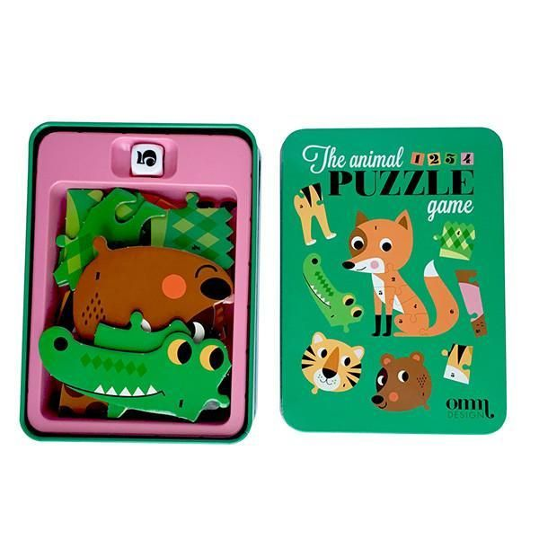 »Animal Puzzle Würfelspiel« — OMM Design