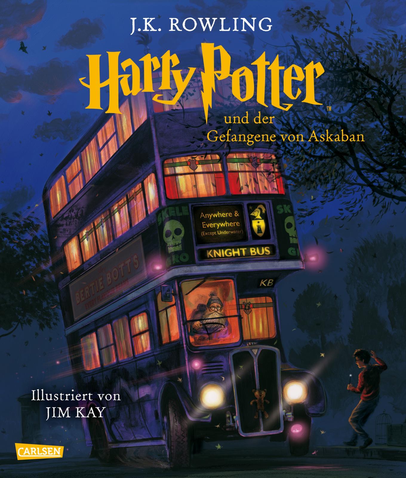 »Harry Potter und der Gefangene von Askaban « (Schmuckausgabe) — Carlsen