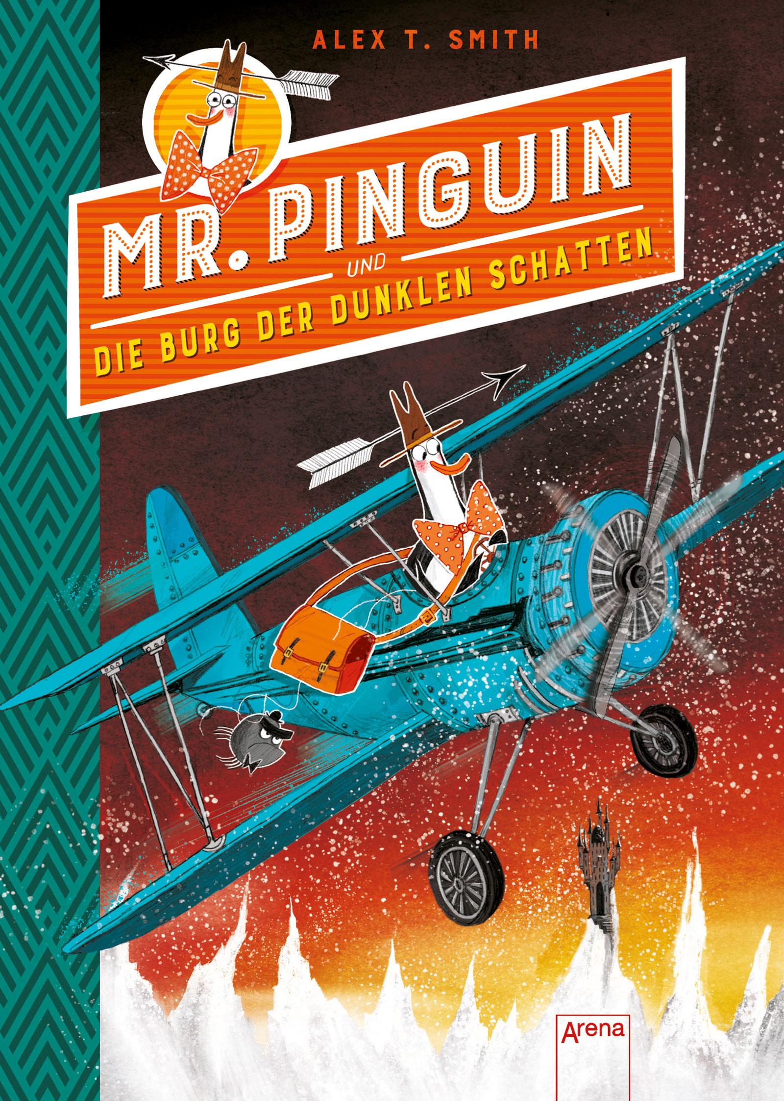 »MR. PINGUIN (2) UND DIE BURG DER DUNKLEN SCHATTEN« — ARENA