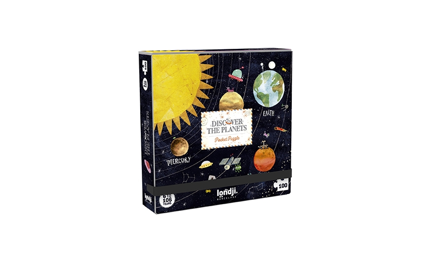 »DISCOVER THE PLANETS POCKET PUZZLE«  — LONDJI