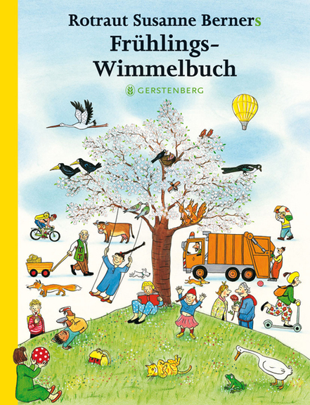 »KLEINES FRÜHLINGS-WIMMELBUCH« — GERSTENBERG