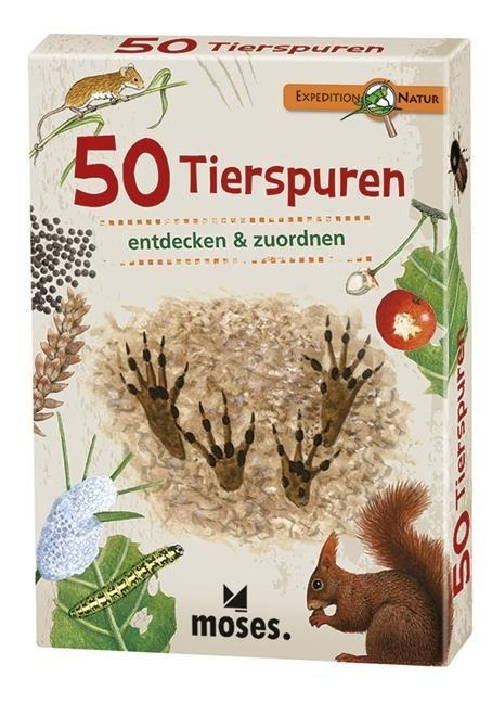 »EXPEDITION NATUR 50 (FÜNFZIG) TIERSPUREN« — MOSES