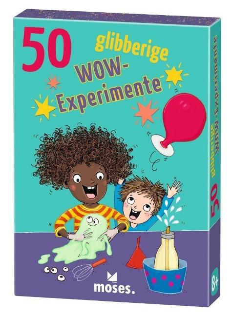 »50 glibberige WOW-Experimente« — MOSES