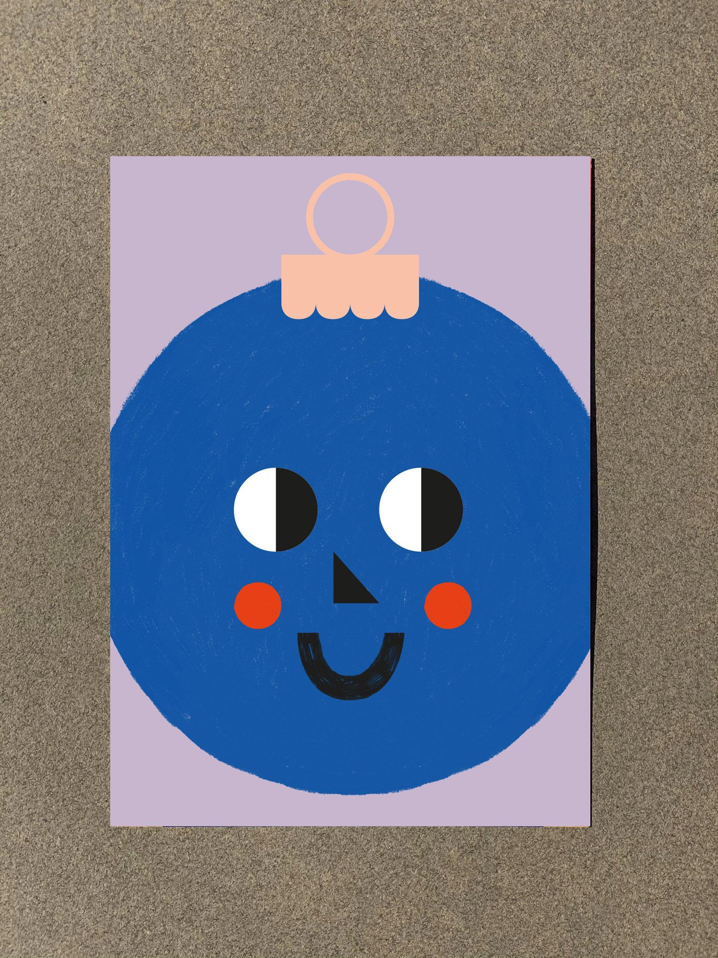 »Grußkarten Set Weihnachtenr«  — BUCHSTÄBCHEN