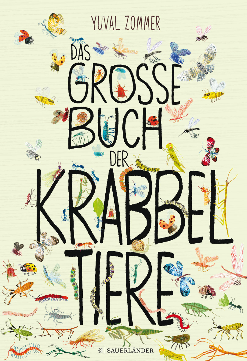 »Das große Buch der Krabbeltiere« - Sauerländer