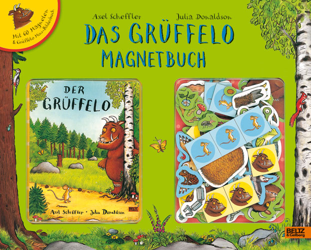 »DER GRÜFFELO. DAS GRÜFFELO MAGNETBUCH« — BELTZ & GELBERG