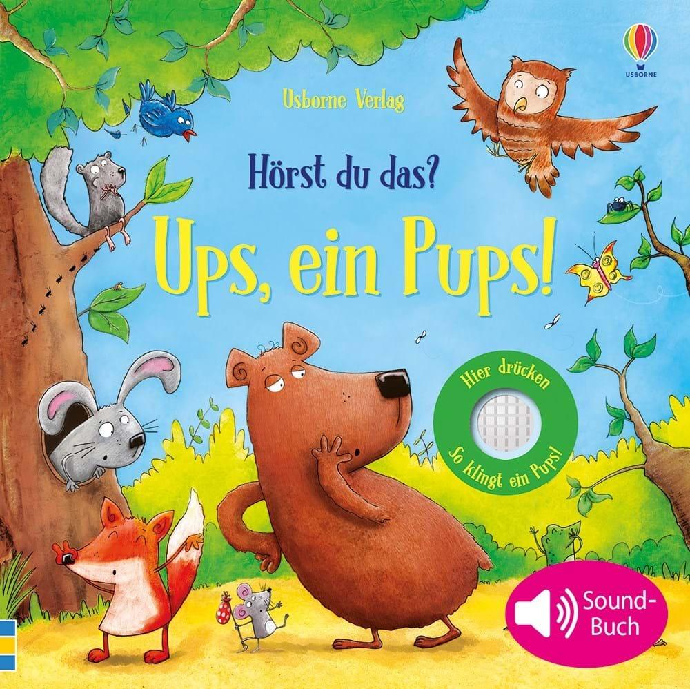 »HÖRST DU DAS? UPS, EIN PUPS!« — USBORNE