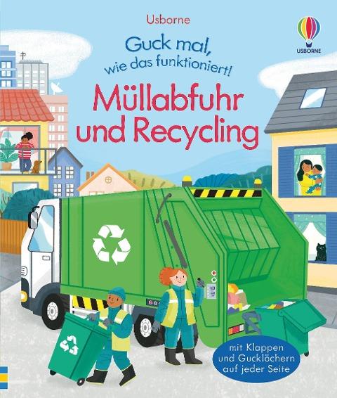 »Guck mal, wie das funktioniert! Müllabfuhr und Recycling« — USBORNE