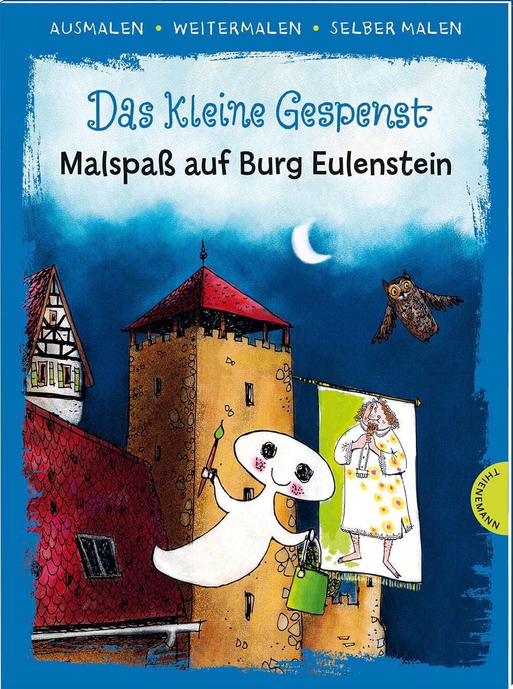 »DAS KLEINE GESPENST. MALSPASS AUF BURG EULENSTEIN« - THIENEMANN