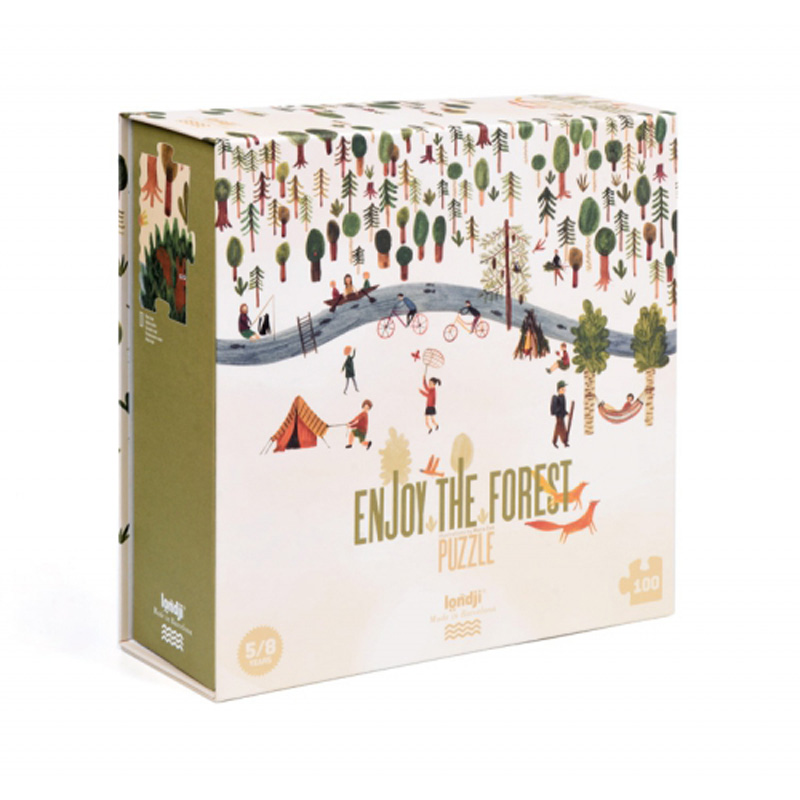 »ENJOY THE FOREST PUZZLE« — LONDJI