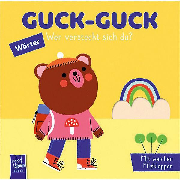 »GUCK-GUCK - WER VERSTECKT SICH DA? WÖRTER« — YOYO BOOKS