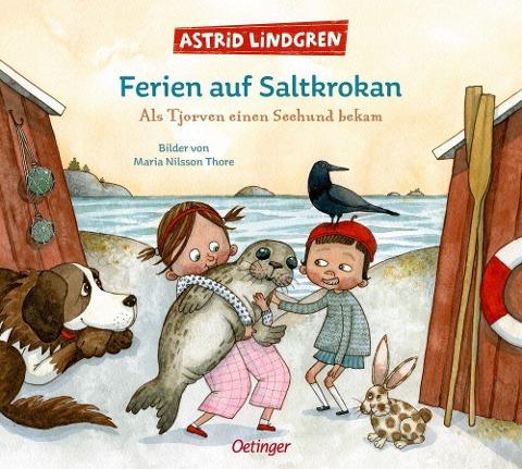 »Ferien auf Saltkrokan. Als Tjorven einen Seehund bekam« — OETINGER