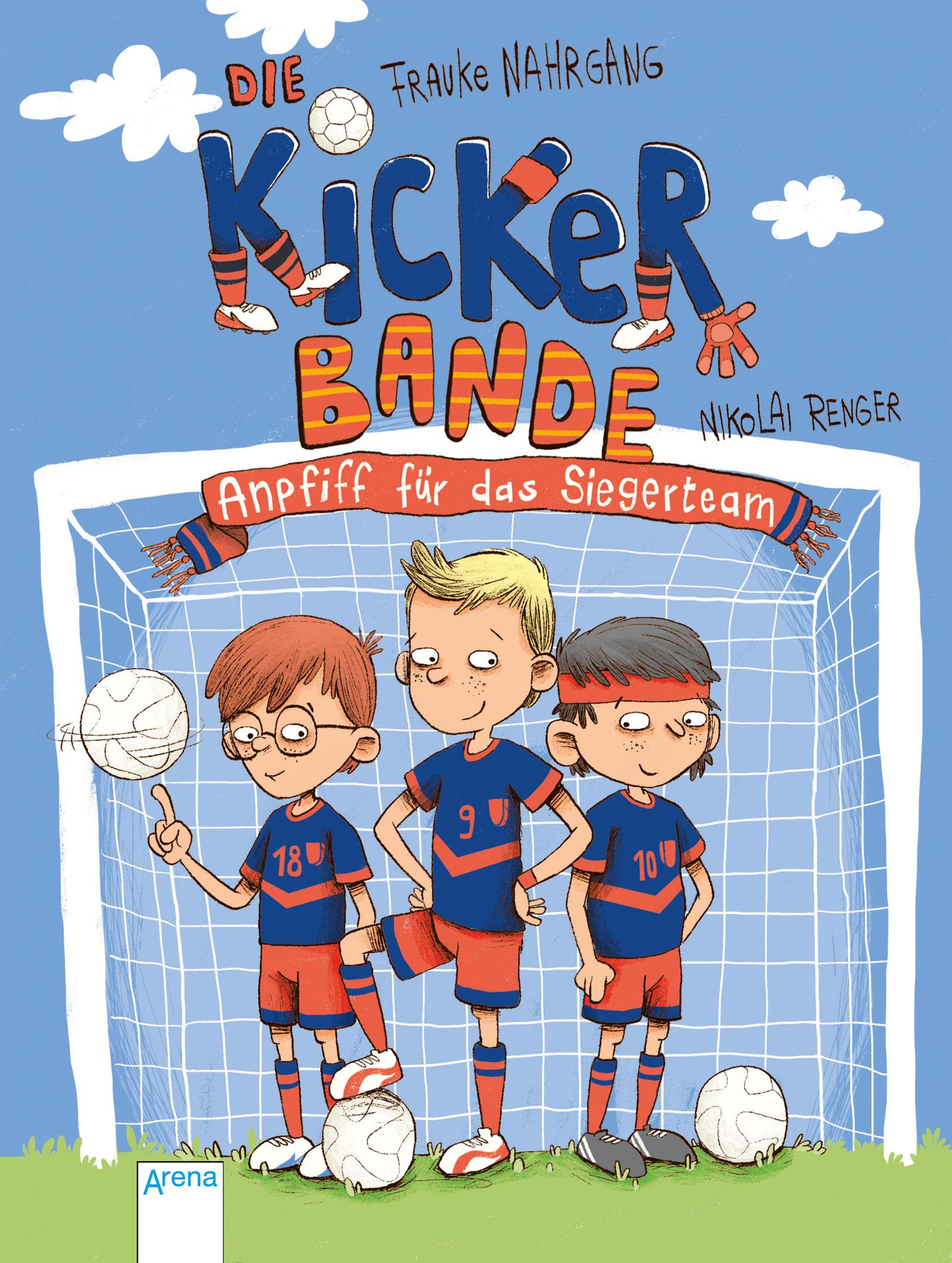 »Die Kickerbande - Anpfiff für das Siegerteam« - Arena