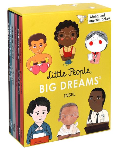 »LITTLE PEOPLE, BIG DREAM: MUTIG UND UNERSCHROCKEN«  — INSEL