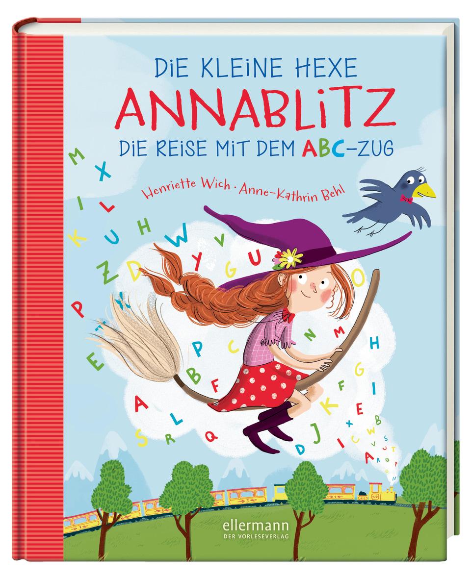 »DIE KLEINE HEXE ANNABLITZ - DIE REISE MIT DEM ABC-ZUG« — ELLERMANN