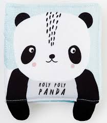 »ROLY POLY PANDA STOFFBUCH« — WEE GALLERY