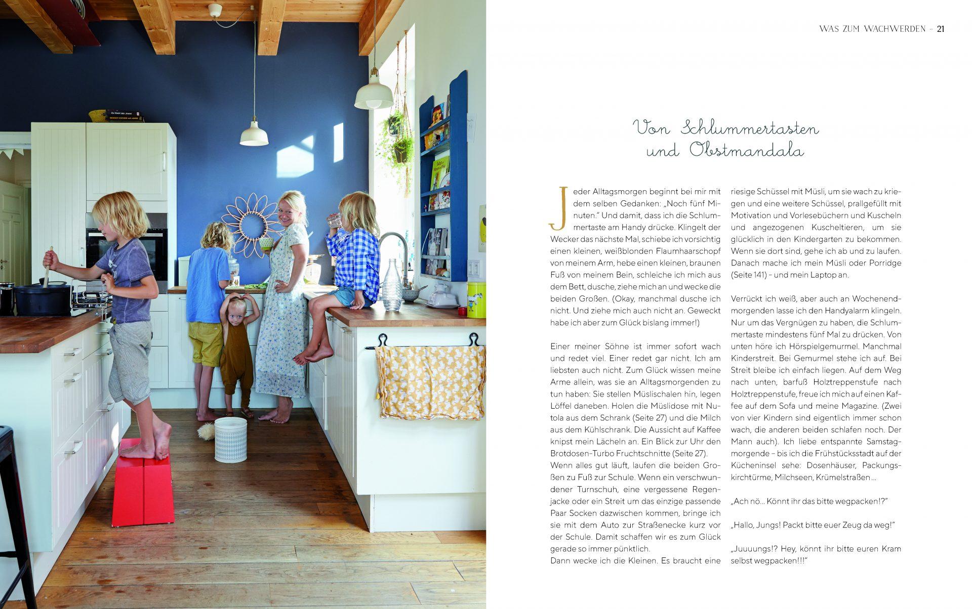 »Barfuß in der Küche - Rezepte und Geschichten vom