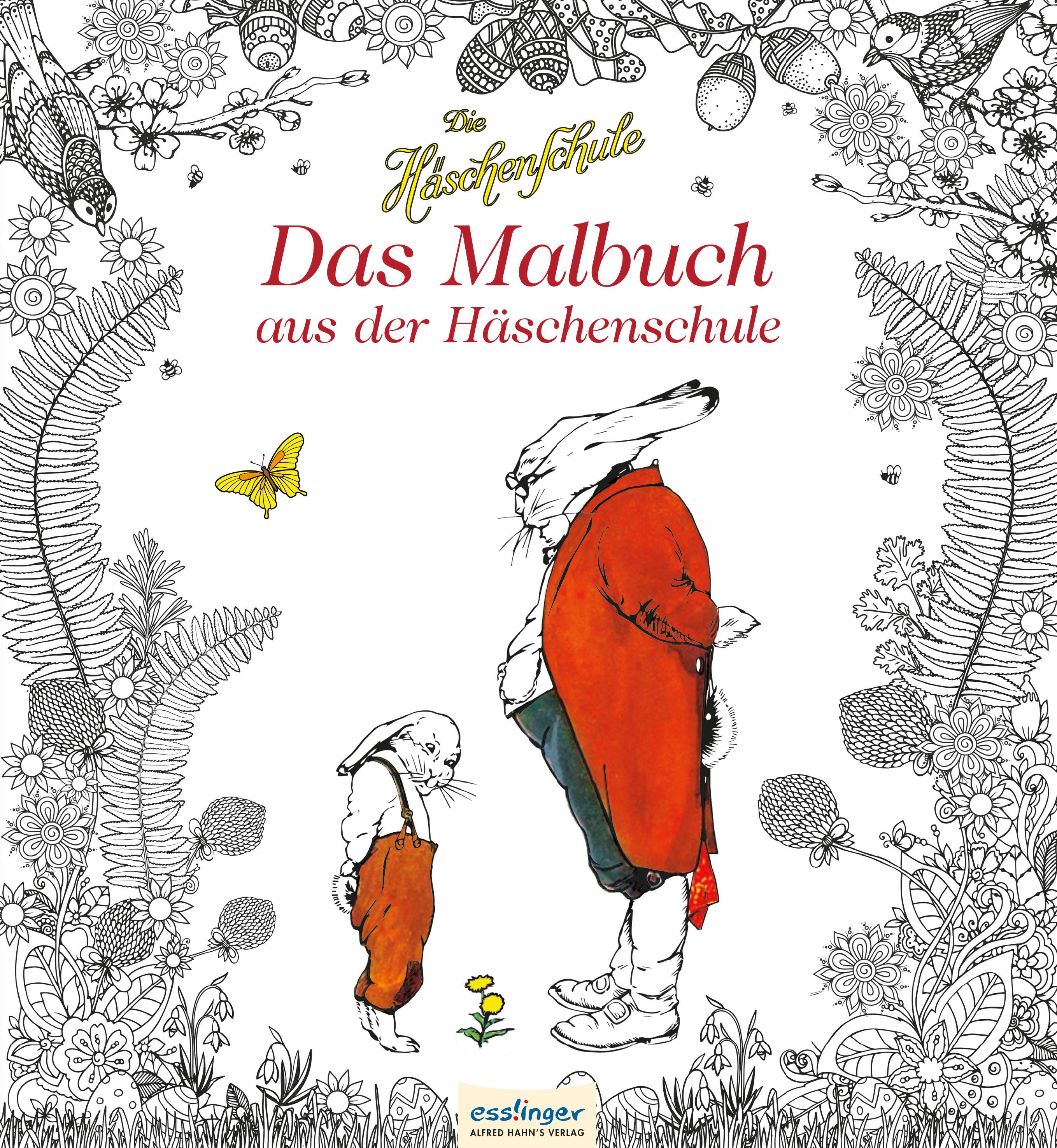 »DIE HÄSCHENSCHULE - DAS MALBUCH« - ESSLINGER