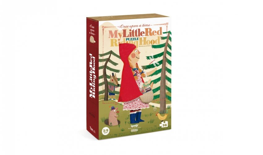 »MY LITTLE RED RIDING HOOD PUZZLE«  — LONDJI