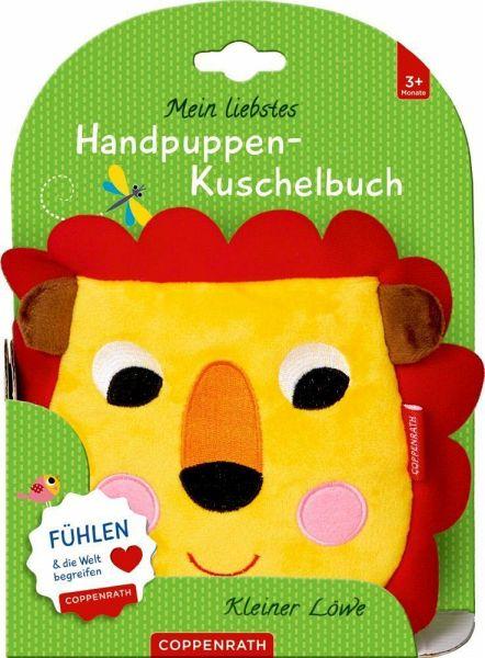 »MEIN LIEBSTES HANDPUPPEN-KUSCHELBUCH: KLEINER LÖWE« - COPPENRATH