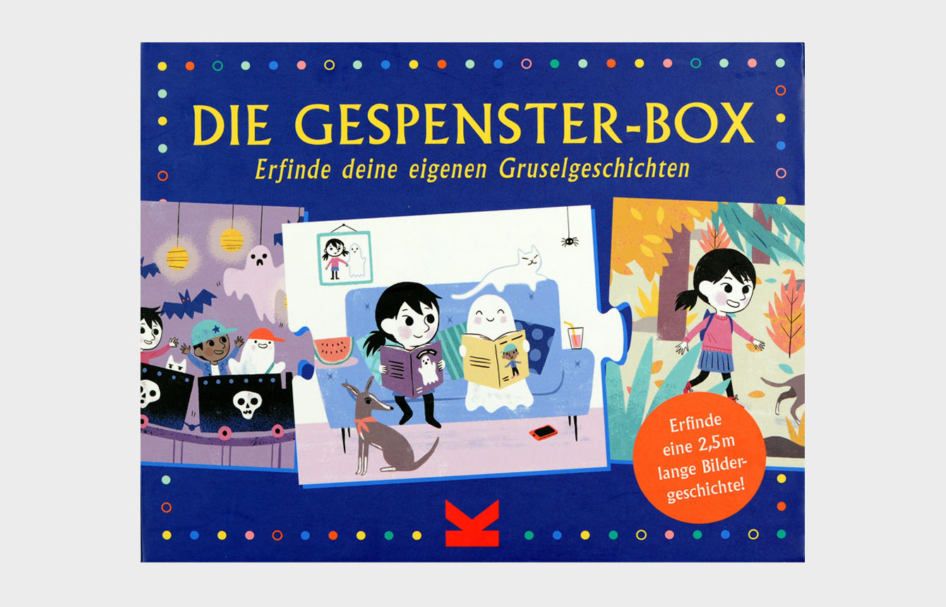 »DIE GESPENSTER-BOX« — LAURENCE KING