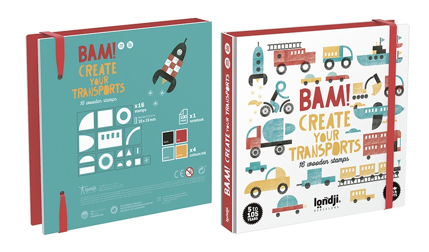 »BAM! CREATE YOUR TRANSPORTS«  — LONDJI