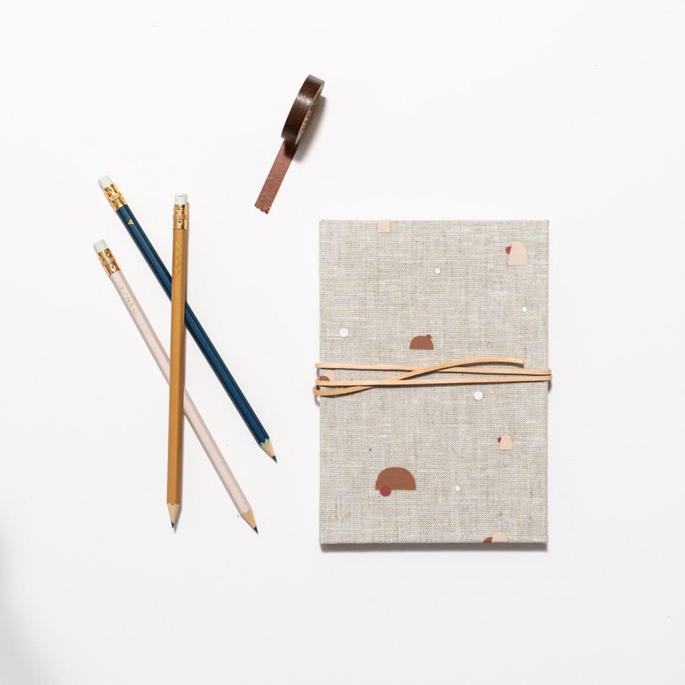 »Notizbuch Naturleinen« — MONK&ANNA