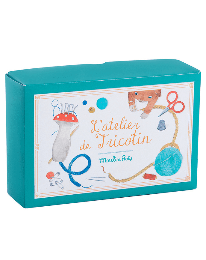 »L'ATELIER DE TRICOTIN - STRICKLIESEL« — MOULIN ROTY