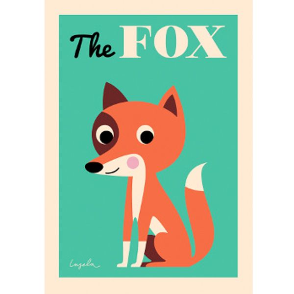 »THE FOX« — 50×70cm — OMM Design