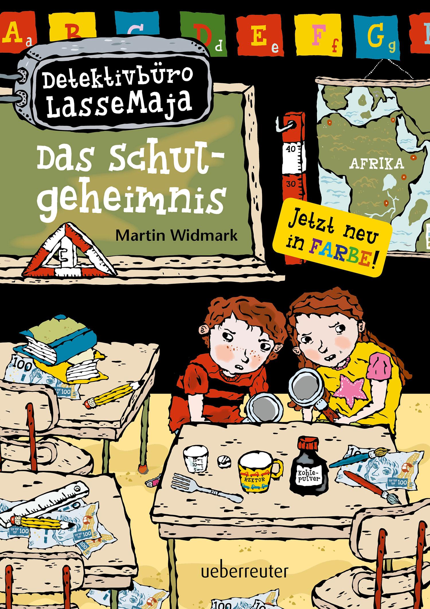 »Detektivbüro LasseMaja - Das Schulgeheimnis« - Ueberreuter