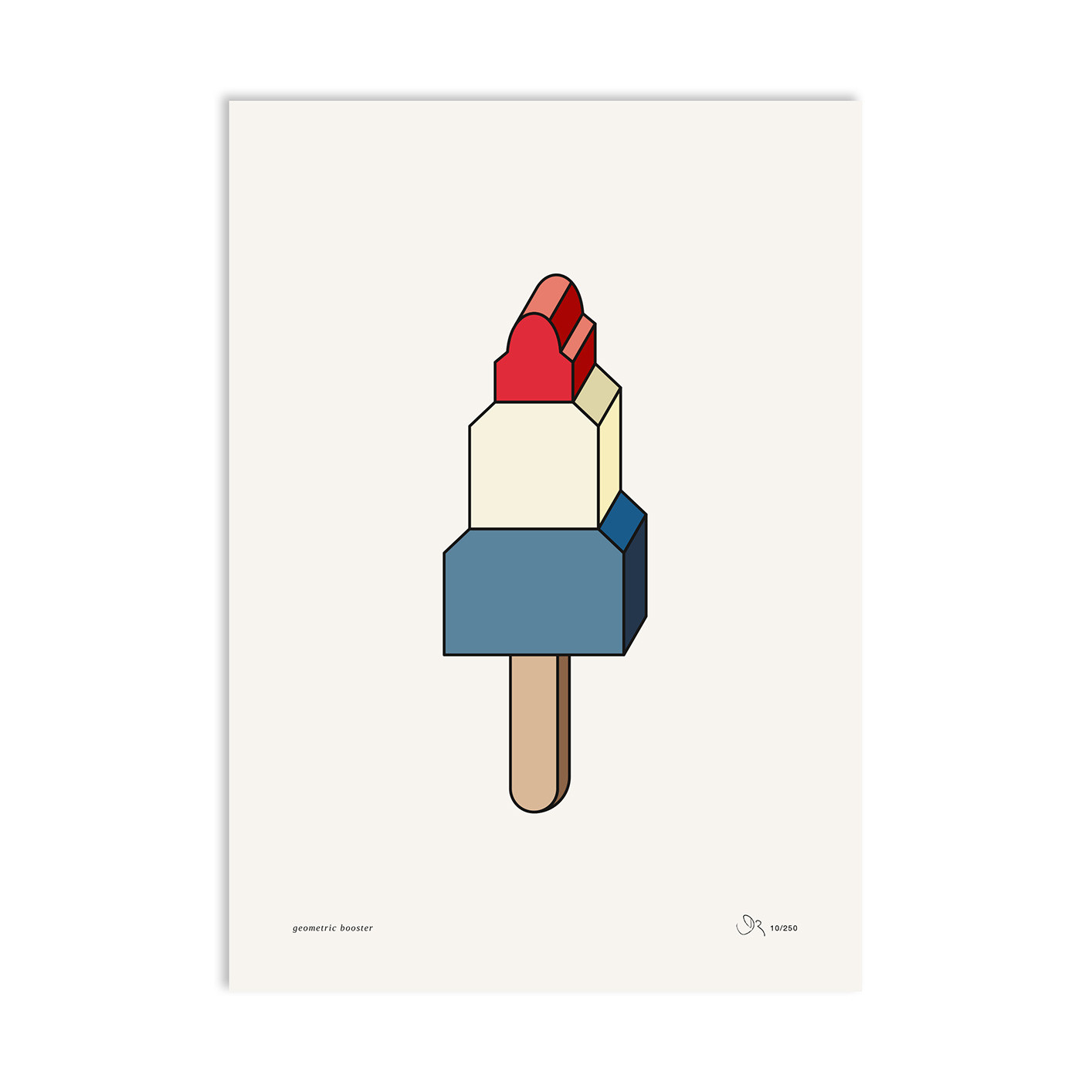 »EIS AM STIL« — A3  — Red Fries