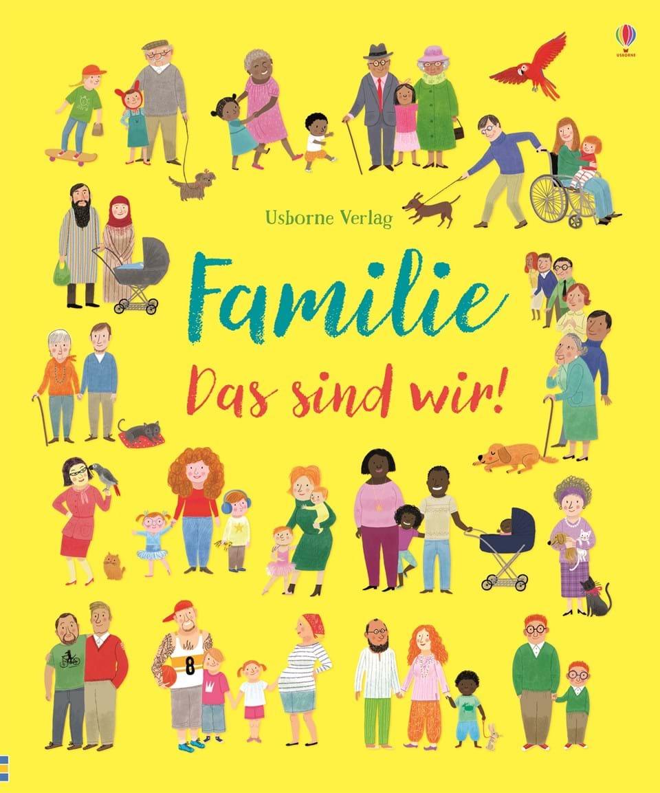 »FAMILIE - DAS SIND WIR!« — USBORNE